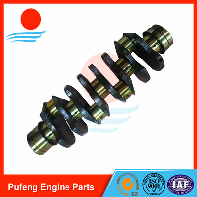 China engineering machinery crankshaft factory in China, 4HK1 forged crankshaft 8-98029-270-0 for Sumitomo excavator supplier