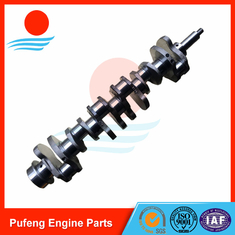 China Mitsubishi diesel engine spare parts 6D34 6D34T forged crankshaft ME300086 for KATO supplier