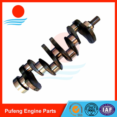 China KOBELCO crankshaft supplier, 4JB1 crankshaft 8-94443-662-0 for KOBELCO excavator SK60 supplier