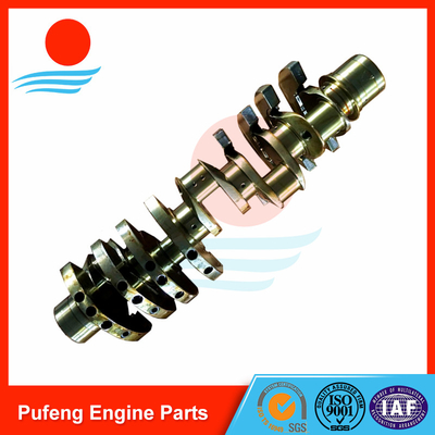 China Excavator crankshaft exporter Isuzu 10PC1 crankshaft for excavator/bulldozer 1-12310-652-0 supplier
