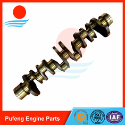 China Engineering Machinery Crankshaft exporter Isuzu 6HH1 crankshaft 8943931884 supplier