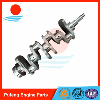 China excavator parts in China 4D31 forged crankshaft ME013667 MD012320 23100-41000 supplier