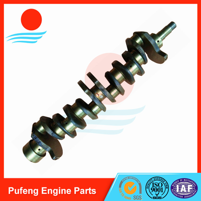 China Isuzu 6BG1 6BG1T Crankshaft 1-12310-448-0 for forklift and excavator EX200-5 EX300-5 ZAX200 ZAX230-6 SH200A3 supplier
