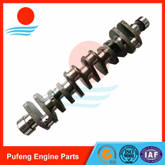 China Engineering Machinery Forged Crankshaft factory for STEYR WD615, hardness up to 63HRC supplier