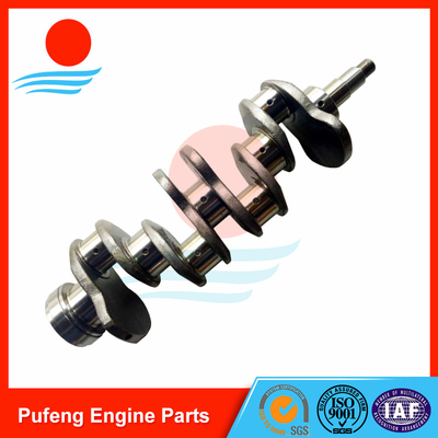 China automobile crankshaft supplier for Mitsubishi Rosa Bus, high hardness and wear resistance crankshaft 4DR5 supplier