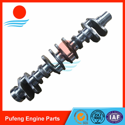 China crankshaft for Komatsu, one year warranty forged crankshaft 6D125 6151-31-1110 6151-35-1010 for PC400-6 bulldozer supplier