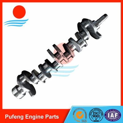 China ISUZU crankshaft supplier, high quality 6BD1 Crankshaft 1123104370 for forklift/excavator supplier
