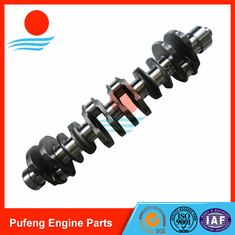 China Doosan Daewoo heavy duty vehicle forged steel crankshaft DL08 OEM quality 65.02101-0064 supplier