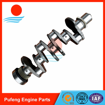 China Cummins ISDE crankshaft supplier in China for excavator supplier