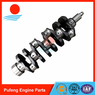 China Forklift truck replacement Nissan crankshaft QD32 12201-EW406 casting alloy iron supplier