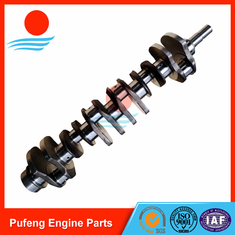 China forged steel 6D110 crankshaft 6136-31-1010 6138-31-1010 6138-31-1110 for PC300-5 PC300-6 PC280-3 WA350-1 WA400-1 WA420-1 supplier