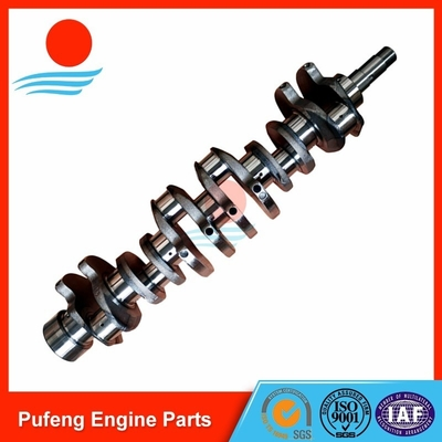 China excavator crankshaft wholesale in China market DAEWOO DB58 crankshaft 65.02101-0045A for UH07-7 DH150 DH130 supplier