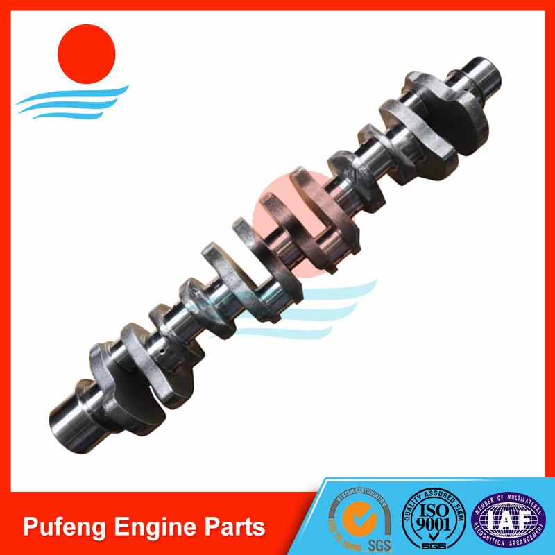 excavator crankshaft manufacturer, 6D16 crankshaft ME072197 for