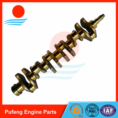 copy Japan crankshaft made in China, 6RB1 Crankshaft 1123105032 for excavator SH400 EX400