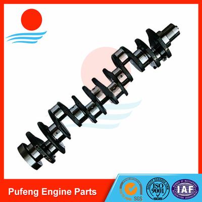 CUMMINS engine parts exporters, 6CT-8.3 forged crankshaft for Hyundai excavator R300-5