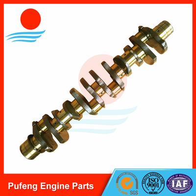 Hyundai excavator diesel engine parts supplier, 6D22/6D20 crankshaft ME999368 ME999367