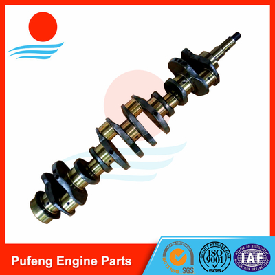 Mitsubishi diesel engine parts 6D31 6D31T forging crankshaft ME082505 for KATO excavator HD400-5