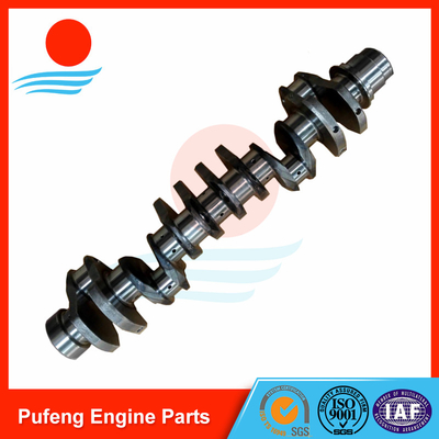 forged crankshaft manufacturer Hino P11C crankshaft for KOBELCO excavator SK460-8