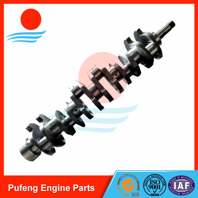 Daewoo crankshaft supplier, hardening crankshaft DB58T for excavator DH150 DH130 DH225-7 DH220-5