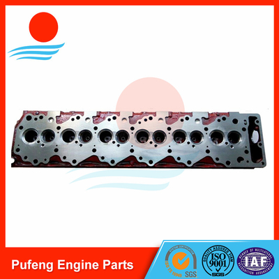 Isuzu replacement for one year warranty 6SD1 cylinder head for Hitachi excavator EX300-2 EX300-3