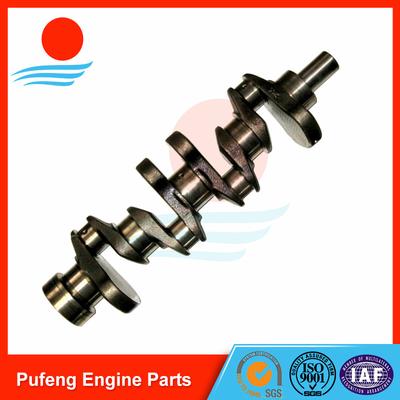 crankshaft for Nissan forklift, casting steel K15 K21 crankshaft 12201-FU400
