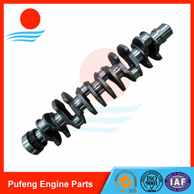 Forged steel crankshaft D7D VOE20412323 VOE20909235 for Volvo excavator EC290B EC240B E240BLC