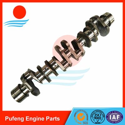 crankshaft for Isuzu, casting steel crankshaft 6HK1 8-97603001-0 8-97603004-0 for truck FVR
