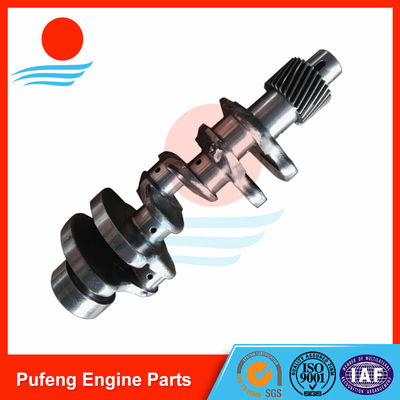 Yanmar crankshaft supplier 3D84 crankshaft assembly 3TR2R14 for excavator PC30