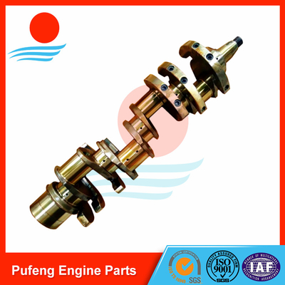 heavy duty truck crankshaft supplier in China, Nissan RF8 crankshaft 12200-97566 12200-97516 with good price