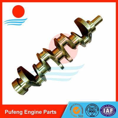 forklift crankshaft wholesale, Nissan casting steel crankshaft H25 high hardness and high wear resistance