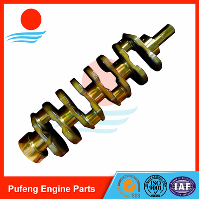 Best selling Toyota forklift crankshaft 1Z 13411-78300-71 CNC machining and nitriding applied