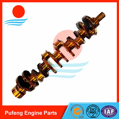 Toyota forklift crankshaft supplier for 12Z crankshaft 13411-78360-71