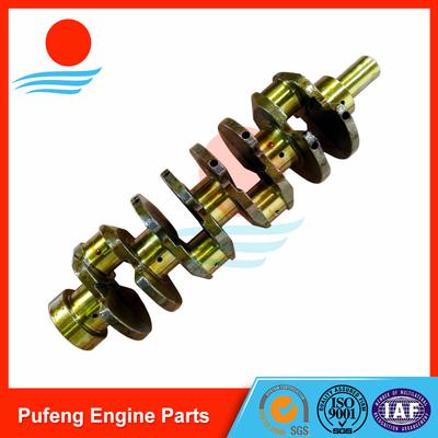 auto crankshaft suppliers for Mazda, hardening crankshaft J2 0K65A11301J