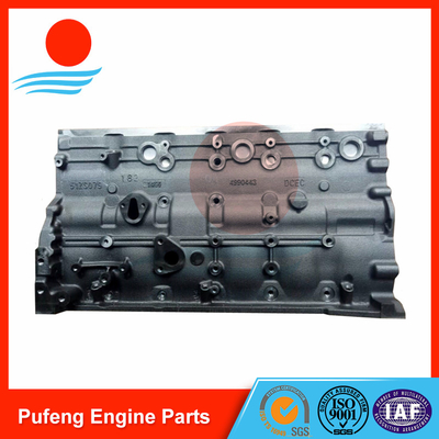 Komatsu engine block 6D107 reference PN 6754-21-1310 4955412 for excavator PC200-8