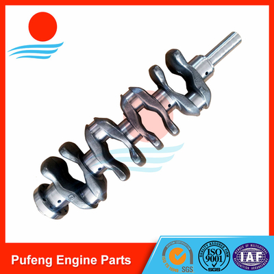 auto crankshaft supplier for Toyota Hilux INNOVA DYNA Hiace FORTUNER Closed Off-Road Vehicle engine model 2TR