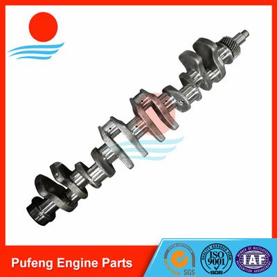 truck crankshaft manufacturer, Isuzu crankshaft 6QA1 for CVR OEM 1123103861 1123105032