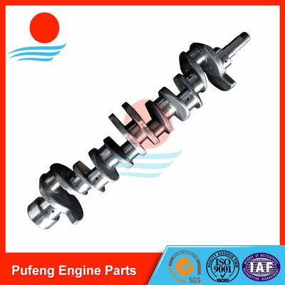 ISUZU crankshaft supplier, high quality 6BD1 Crankshaft 1123104370 for forklift/excavator