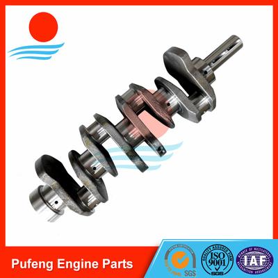 Hyundai crankshaft D4BH made of casting steel
