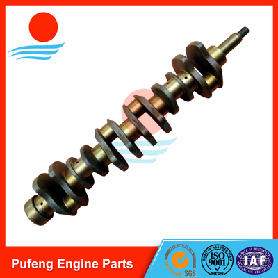 China crankshaft for Hino, forged steel crankshaft H07C crankshaft 13411-1583 for automobile and excavator factory