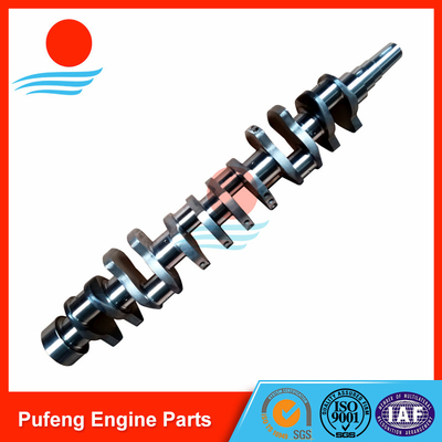 diesel Engine forged Crankshaft 6D155 for KOMATSU D155A-1 bulldozer 6127-31-1114 6127-31-1012 6127-31-1011 6127-31-1010