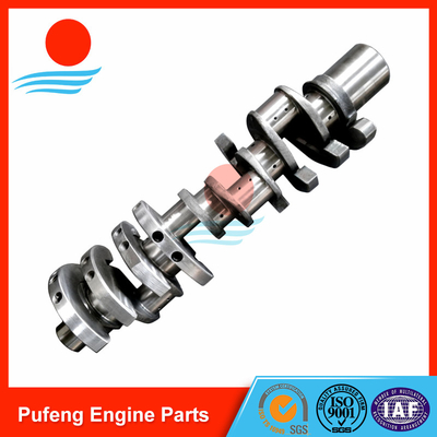 Hino diesel engine parts supplier in China casting steel crankshaft F17D F17E