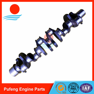 Mitsubishi crankshaft supplier in China, hardening 6D24 6D24T crankshaft ME996148 for excavator and crane