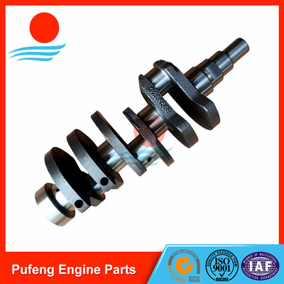 China auto engine parts replacement supplier in China SUZUKI F8D crankshaft factory