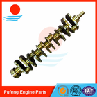 CUMMINS engine parts company NH220 crankshaft 6623311111 3029341 101109 130186 for Kato excavator HD1100
